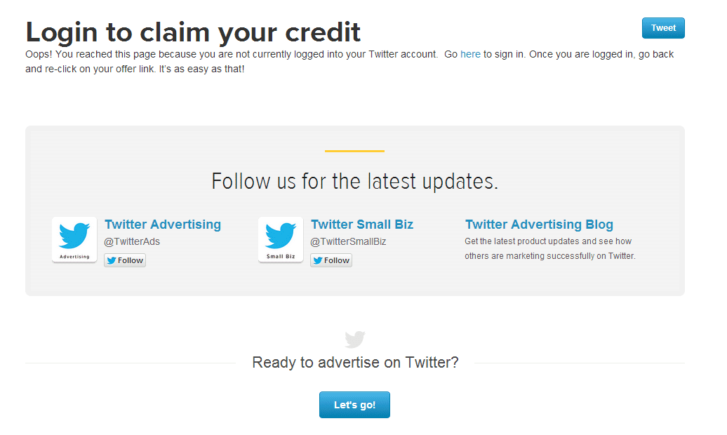 2014-05-09 16_55_29-Login to claim your credit _ Twitter for Business